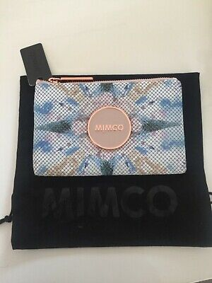 Mimco Enamour Pouch/Wallet in Metal Mesh Small With Dustbag