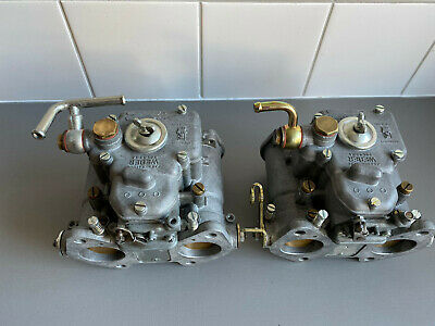 2 Italian Made Weber Dcoe 40 Carburators Rebuild ( Type 31 )