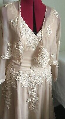 Mother of the bride dress size 14, new no tags