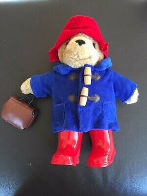 Paddington Bear Classic with Boots and suitcase