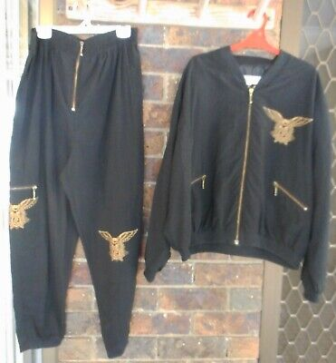 Near New Ladies Transam Lined Jacket And Matching Pants Medium