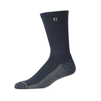 Footjoy ProDry Mens Crew Socks, Navy, 6 Pair Pack