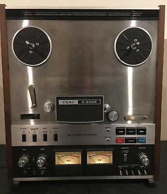 TEAC A-6300 REEL TO REEL TAPE RECORDER Vintage Rare
