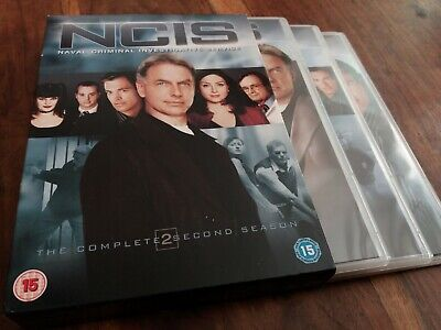 NCIS - The Complete Second Series Season 2 Two 6 Disc UK R2 DVD Boxset VGC