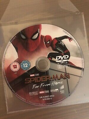 Spider-man: Far From Home DVD (Disc Only)