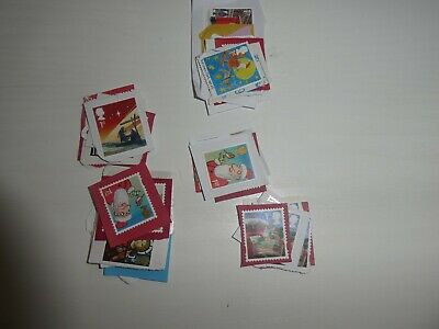 50 Gb Unfranked 1St Class Christmas Stamps