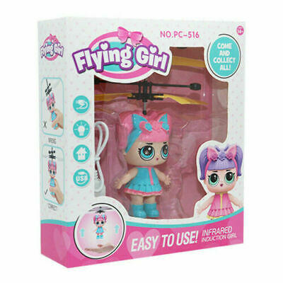 LOL Flying Girls Goddess Doll Magic Infrared Induction Control Xmas Kid Toy Gift