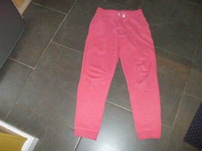 Girls Next Age 12 Jogging Trousers Non Smoke House Cotton / Poly Pink