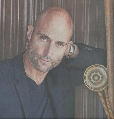 MARK STRONG interview  UK 2015
