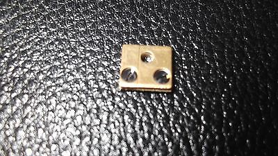 400 Day Anniversary Brass Block & Hole Clock Parts suspension spring 6mm x 5mm