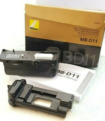 Nikon MB-D11 Multi Power Battery Pack (no batteries) fits Nikon D7000 & others