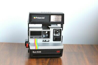 POLAROID Sun 635 QS  LAND Instant Film,   - Boxed   - Tested  * Working *