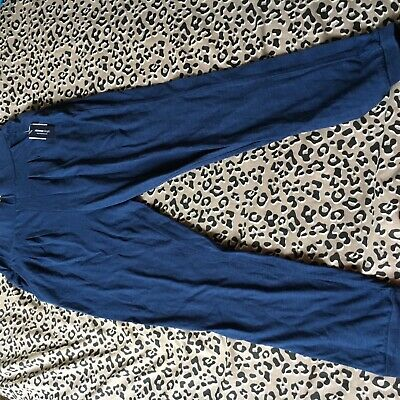 Girls gap navy blue stretch trousers nwt size 12-13 year