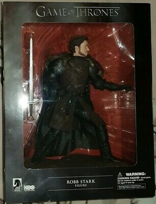 GAME OF THRONES Robb Stark Dark Horse Deluxe Figure CONDITION IS BOXED UNOPENED