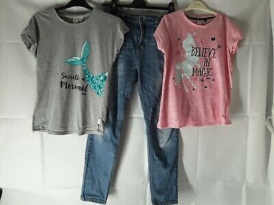 Age 13 Years Girls Clothing Bundle Jeans And T Shirts Lee COOPER Tops F&F Jeans