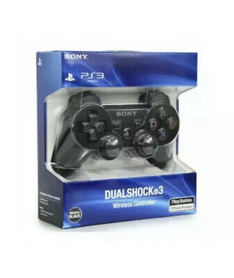 NUOVO Controller Sony Playstation 3 Dualshock Wireless PS3 Nero DS3