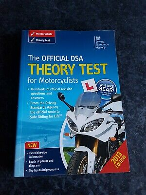 The Official DSA Theory Test for Motorcyclists by Driving Standards Agency (Pap…