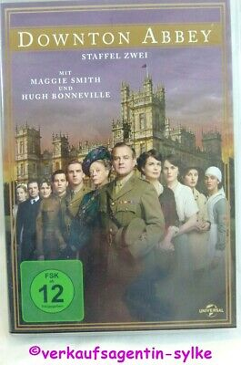 DVD: DOWNTON ABBEY - Staffel 2 (4 DVDs) Maggie Smith + Hugh Bonneville, wie neu
