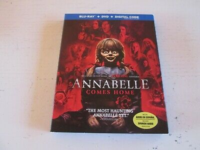 Annabelle Comes Home (Blu-ray + DVD + Digital). Brand New & Sealed. Horror.