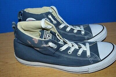 Converse All Star Chuck Taylor Blue Canvas Shoes Unisex Size Mens 10  Womens 12