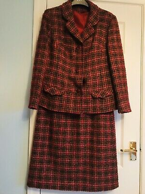 Vintage Wool Tweed Two Piece Alexon Suit