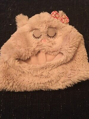 Monsoon Owl Hat Kids Size 0-12 Months
