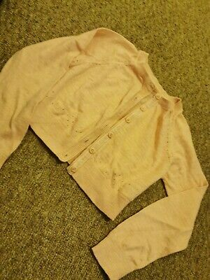 BNWOT Girls Mothercare Pink Cardigan Age 6 Years