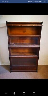 4 Tier Globe Wernicke Bookcases Early 20th Century Rare Library Bookcase Antique