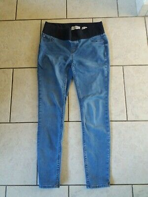 New look Size 10r Maternity Skinny Blue Jeans emilee