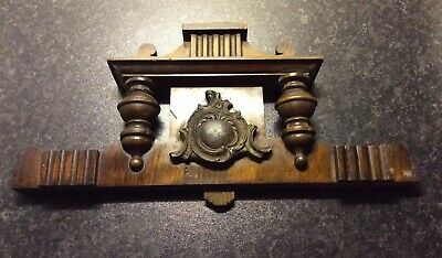 Antique Vienna Wall Clock Crown Top Piece
