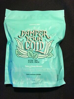 Perfectly Posh Fizi (Bath Bomb) 6 Pack - Pamper Your Cold - SOLD OUT