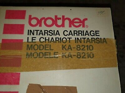Brother Intarsia Carriage KA 8210