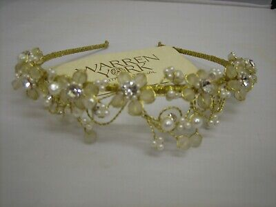 Lovely Bridal / Bridesmaid Headdress/ Headband by Warren York. A-1549-CC-W44