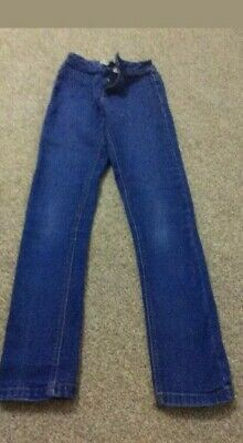 Next girls Blue Skinny Jeans Age 10