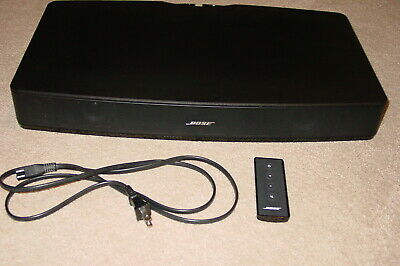 Bose Solo Tv Sound System Model 410376 W/ Remote & Power Cord Works Great