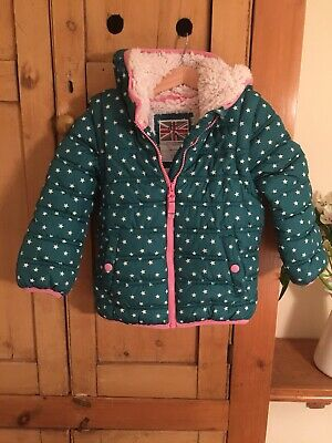 🌟Mini Boden 🌟Girls Cute Cosy 2 In 1 Padded Coat Age 3-4 Years