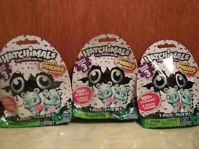 LOT of HATCHIMALS CollEGGtibles (SEASON 3) Blind Bags NEW