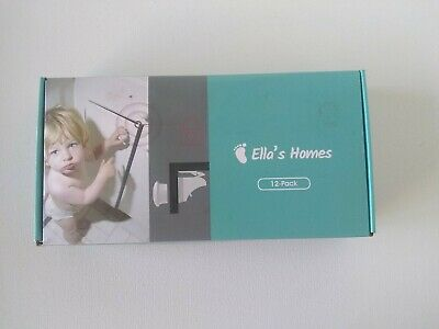 12-pack magnetic cabinet locks - New Open Box Ella's Home