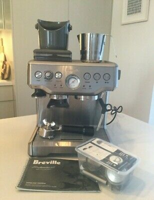 Breville The Barista Express BES860 8 Cups Coffee & Espresso Combo - Silver