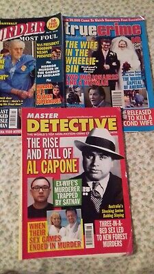 3 True Crime Mags nice condition