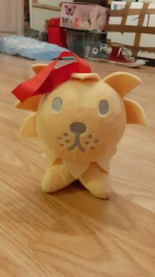 Miffy Small Lion soft toy, rattles, for children teddy cute
