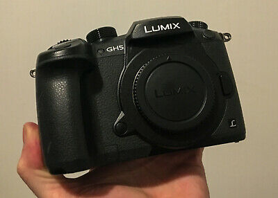 Panasonic Lumix DC-GH5KBODY w/ V-LOG - 4K Video Mirrorless 20.3MP Digital Camera