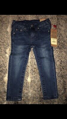 Authentic True Religion Jeans Toddler Boy Age 2t RRP £58