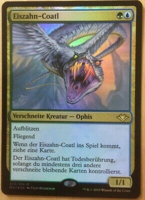 MTG Magic card Rare Ice-Fang Coatl #203 Modern Horizons Mint