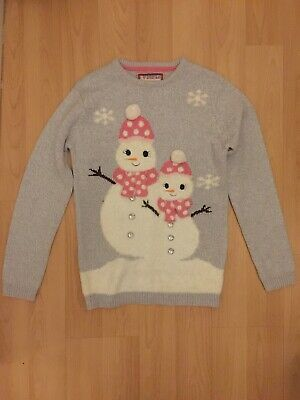 Primark Christmas Jumper Girls Age 12-13 Years