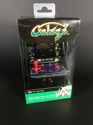 My Arcade Official GALAGA Micro Player Handheld Retro Video Game Collectible