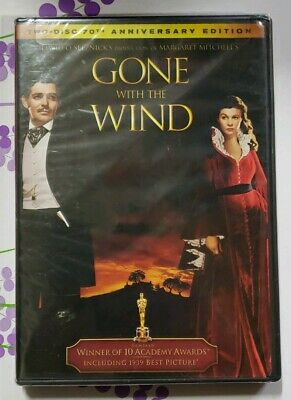 Gone With the Wind DVD 2-Disc 70th Anniversary Edition BRAND NEW & SEALED