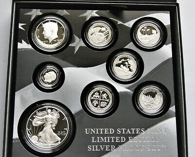 2019 United States Mint Limited Edition Silver Proof Set. 99.9% Pure Silver!