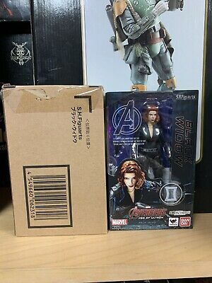 SH Figuarts Marvel Black Widow Age Of Ultron Authentic Factory Sealed Avengers