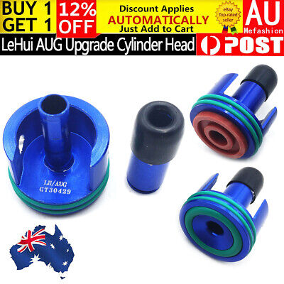 Upgrade Gearbox Metal Cylinder Head With Nozzle For LeHui AUG Gel Ball Blaster
